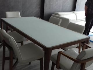 Minimalist dining room by Designo Arquitectos Minimalist