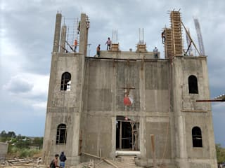 templo San Jose, Oaxaca: Condominios de estilo  por Maharba