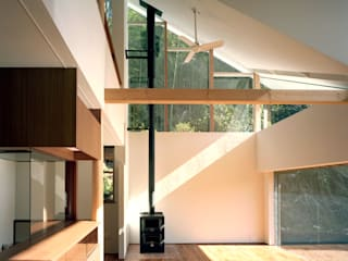 Modern Oturma Odası 西島正樹/プライム一級建築士事務所 Modern