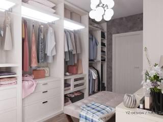 Closets de estilo  por YZ-design, Minimalista