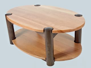 Elliptical coffee table de Fine Furniture Ltd Moderno