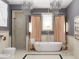 3д визуализации с проработкой дизайна.: Ванные комнаты в . Автор – DeepAA