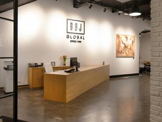 Local de oficinas en Eibar Edificios de oficinas de estilo industrial de Gumuzio&MIGOYA arquitectura e interiorismo Industrial