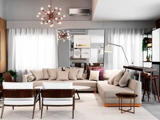 Stunning Living Room: Salas de estar  por Design by Carolina,