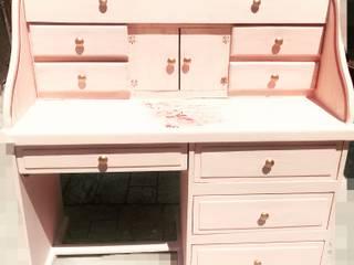 Secreter Pinky Rose de Vintage Decoration Clásico
