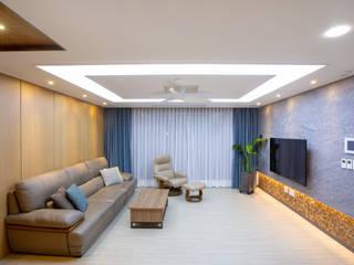 다빈710 现代客厅設計點子、靈感 & 圖片