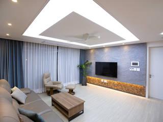 다빈710 Salas de estilo moderno