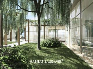 Casa de Ortigosa : Casas  por Habitat Saudável - consultoria, arquitetura e decoração,