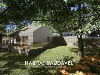 Casa Fibonacci : Casas  por Habitat Saudável - consultoria, arquitetura e decoração,