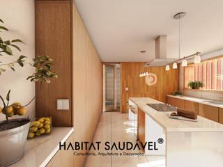 Habitat Saudável - consultoria, arquitetura e decoração Cocinas de estilo rural
