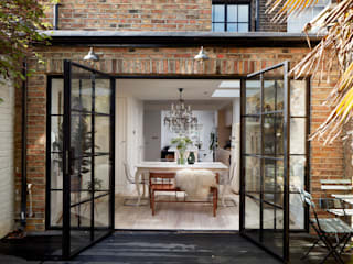 Greenwich Design and Extension Moderne eetkamers van Urbanist Architecture Modern