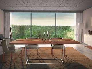 Decordesign Interiores ComedorVitrinas y cajoneras Aglomerado Acabado en madera