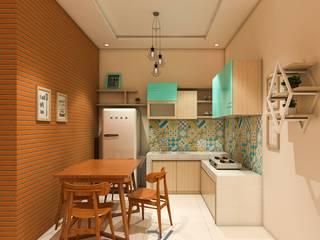 Kleine Küche von RK Interior Design