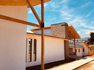 Casa MT,Valle Alegre ,Quintero.: Parcelas de agrado de estilo  por Camps Arquitectura,