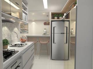 Kitchen by Patricia Picelli Arquitetura e Interiores