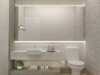 Bathroom by Patricia Picelli Arquitetura e Interiores