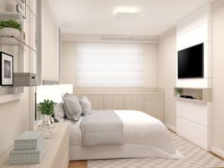 Bedroom by Patricia Picelli Arquitetura e Interiores