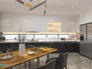 Công ty CP tư vấn thiết kế và xây dựng V-Home 餐廳配件與裝飾品