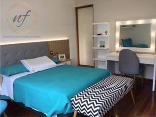 PROYECTO RESIDENCIAL - Dormitorio Jovencita NF Diseño de Interiores Dormitorios