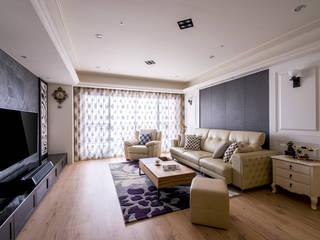 典雅鄉村-霞公錧 根據 富亞室內裝修設計工程有限公司 鄉村風