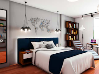 NF Diseño de Interiores Спальня