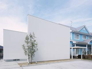 Asian style house by 株式会社 空間建築-傳 Asian