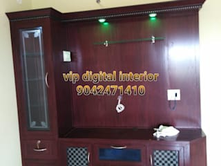 balabharathi pvc interior design Dining roomLighting Plastic Brown