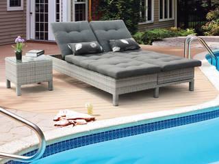 Mobiliário para exterior Varandas, marquises e terraços modernos por CRISTINA AFONSO, Design de Interiores, uNIP. Lda Moderno
