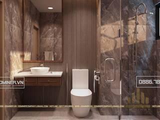 Thiết kế nội thất chung cư HD Mon - chị Lương bởi Thiết kế - Nội thất - Dominer