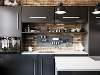 Industrial style kitchen by Damiano Latini srl Industrial