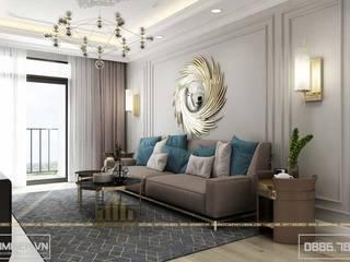 Thiết kế nội thất chung cư An Bình City - anh Tuấn bởi Thiết kế - Nội thất - Dominer