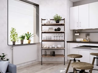 Minimalist kitchen by Damiano Latini srl Minimalist