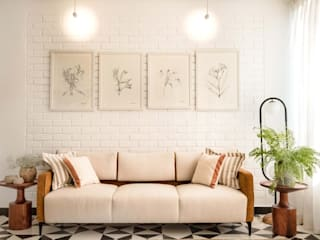 EL ARBOL- GOA Rustic style living room by Josmo Studio Rustic