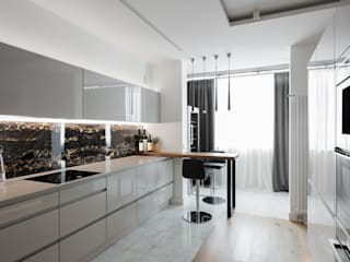 Built-in kitchens by дизайнер Анна Кучукова