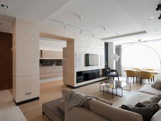 Living room by дизайнер Анна Кучукова