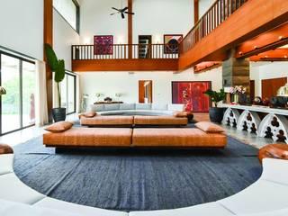 VILLA MAJAZA - RESIDENTIAL Modern living room by Josmo Studio Modern