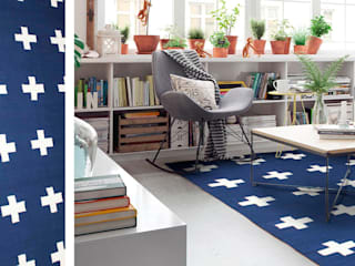 DiB México Living roomAccessories & decoration Cotton Blue