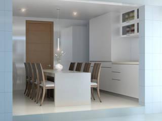 AOG Cocinas integrales Hormigón Blanco