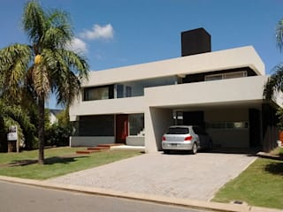cdq20021: Casas unifamiliares de estilo  por CONSTRUCTORA EDIFICAR