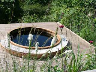 Cheddar Gorge Country style garden by Abigail Hazell Landscape and Garden Design Country