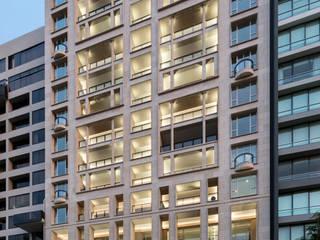 Proyecto Residencial: Condominios de estilo  por TRAZZO ILUMINACIÓN
