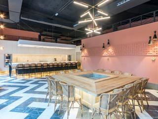 REFORMA INTEGRAL ESCUELA DE COCINA - BARRIO DE LA PROSPERIDAD: Cocinas integrales de estilo  de Loema Reformas Integrales Madrid , Moderno