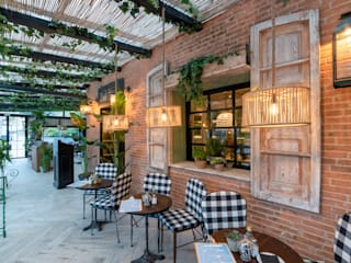 REFORMA INTEGRAL RESTAURANTE MADRID : Cocinas de estilo  de Loema Reformas Integrales Madrid , Rústico