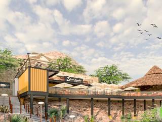 El Zarandeado de Villa Juarez de Ag Arquitectos Moderno