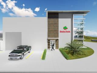 Galpão Industrial Iracemápolis-SP Edifícios comerciais modernos por 88 Arquitetura Moderno