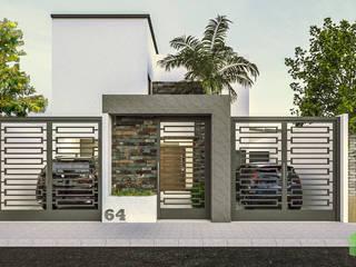 Residencia Cigarroa Casas minimalistas de Ag Arquitectos Minimalista