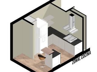 Kitchen by RT Arq+Di, Modern