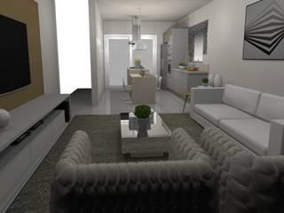Moderne Wohnzimmer von Lorenna Nogueira Modern
