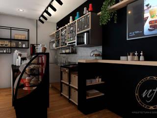 NF Diseño de Interiores ร้านอาหาร