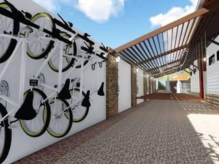 Ha Coliving - Limeira Espaços comerciais modernos por 88 Arquitetura Moderno